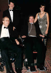Laurance Johnston with Christopher & Dana Reeve